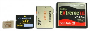 Different Types of Memory Cards